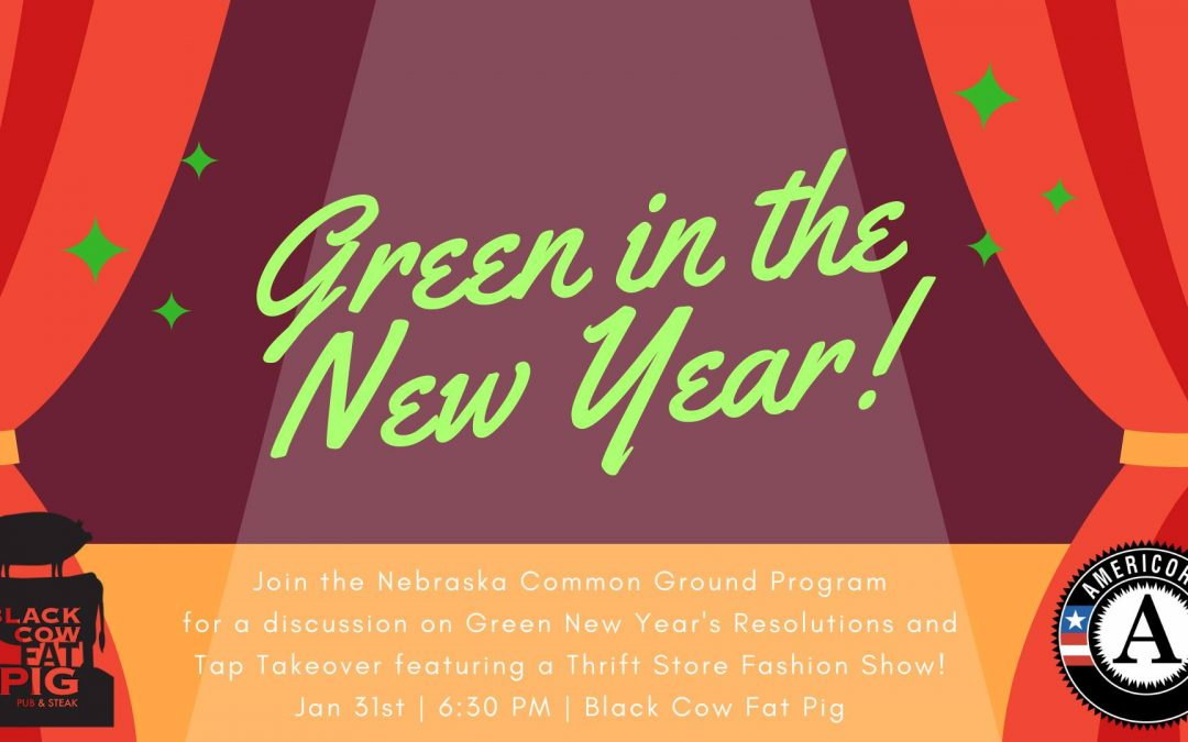 Green in the New Year!