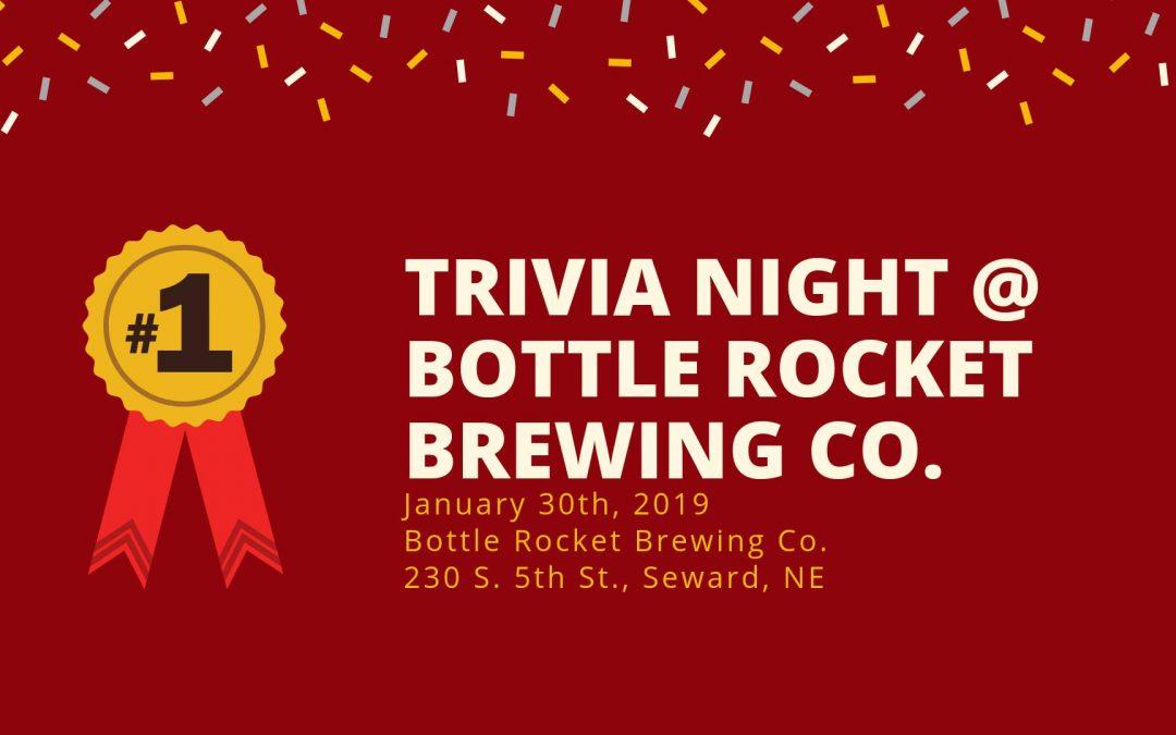 Trivia Night at Bottle Rocket Brewing Co.