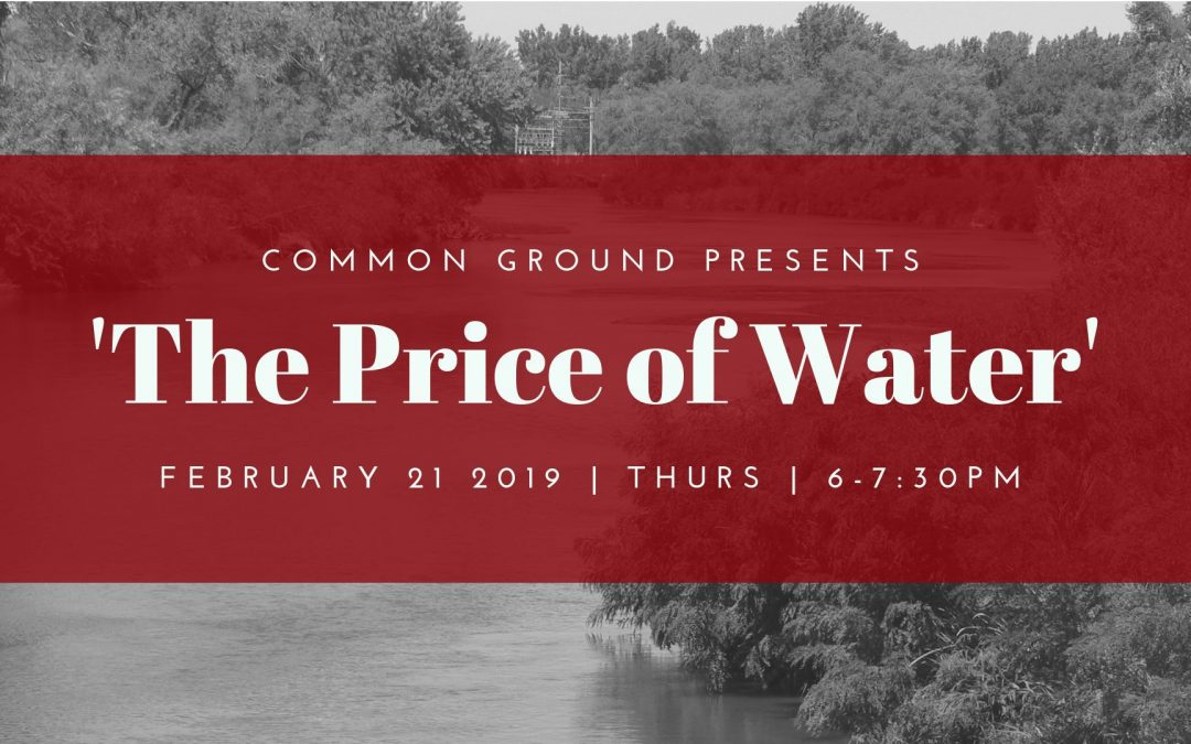 The Price of Water – Documentary Screening & Discussion